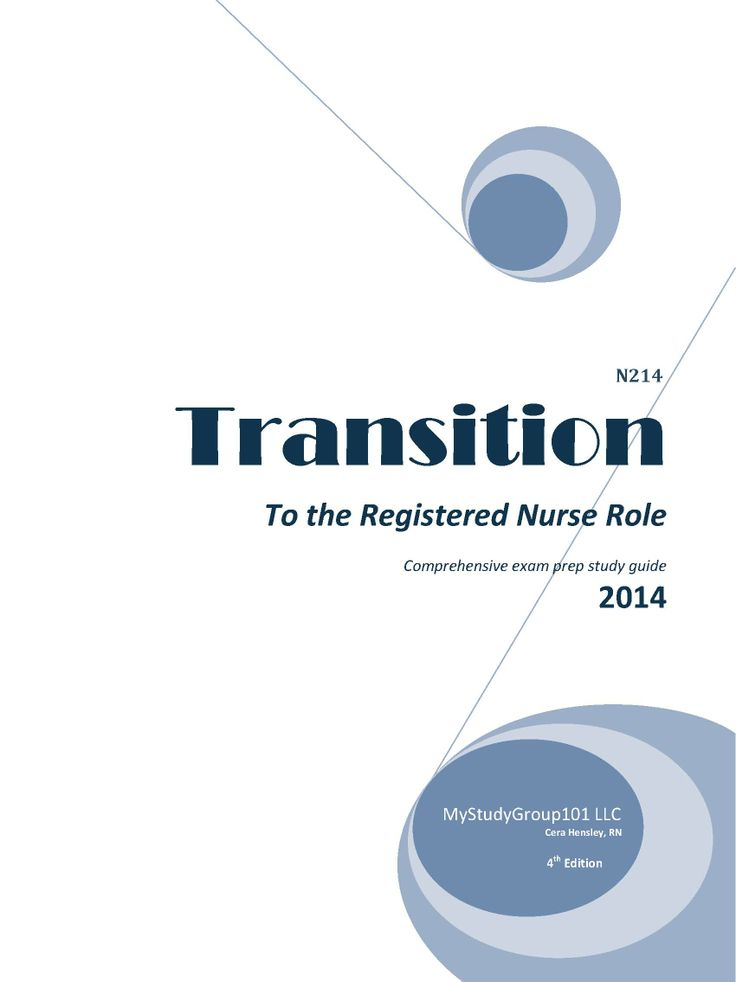 Transition to rn role