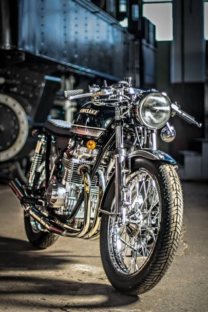 "Kawasaki KZ 650 ""Green Glory! - RocketGarage Cafe Racer"