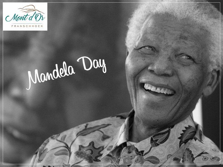 Take action, inspire change, make everyday a Mandela Day!