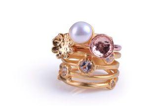 Neige jewellery - stack rings