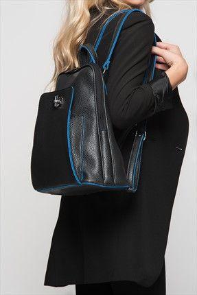 Siyah Sırt Çantası 940 Housebags | Trendyol