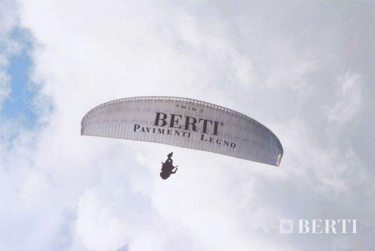 """Berti Wooden Floors - Sponsorship.  """"La vertigine non è paura di cadere, ma voglia di volare.""""Lorenzo Jovanotti Cherubini, Mi fido di te, 2005. #parquet #parquetlovers"""