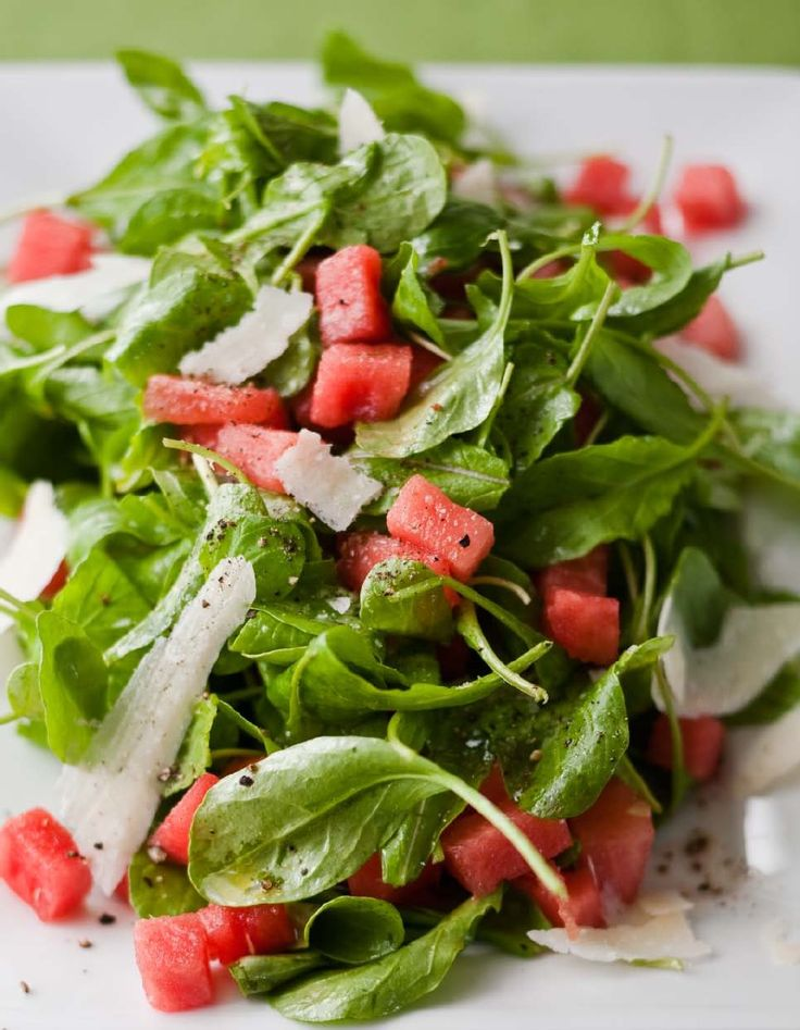 Watermelon and Arugula Salad From Barefoot Contessa How Easy is That by Ina Garten