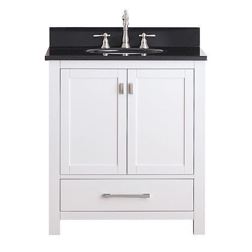 white bathroom vanity with black granite top best 25 30 inch vanity ideas on 30 inch 26304