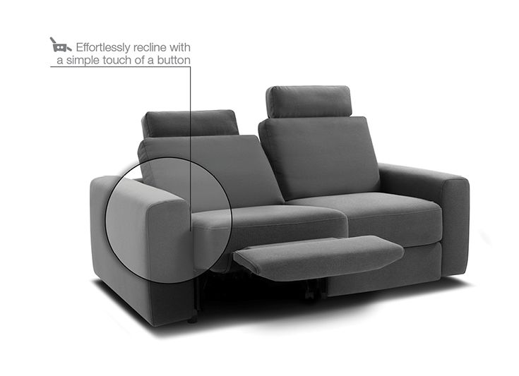 Sectional Sofa Reclining Sofas The King Dream is just one of many effortlessly reclining sofas Find