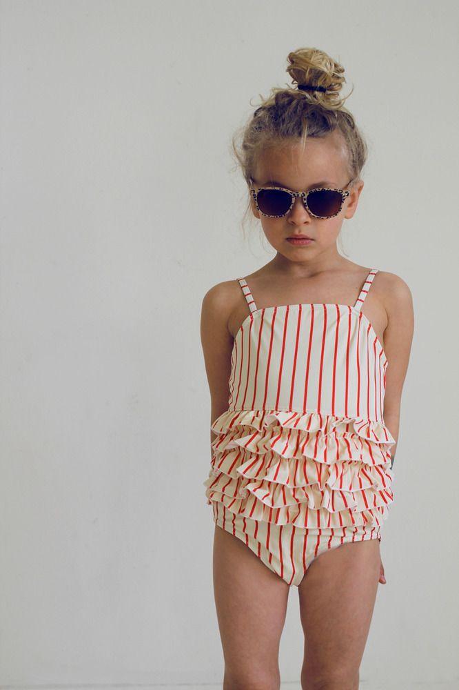 guapitO! — Maillot Mini Rodini rayé ♥