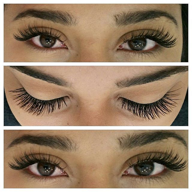 Individual eyelash extension services offered at both laque locations.  Full set…