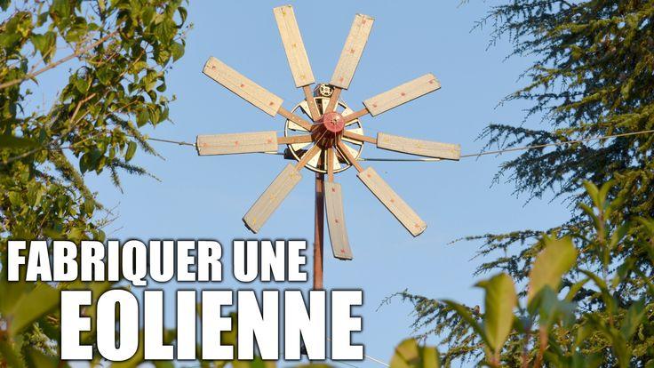 Fabriquer une éolienne : Incroyables Expériences [85] Energie éolienne /...