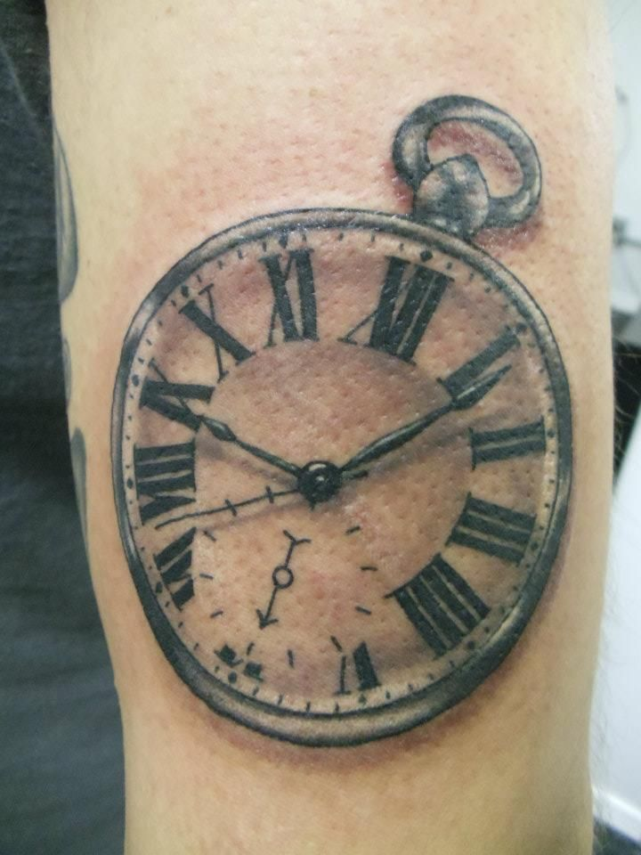 Meaning Of Clock Tattoo: Clock Tattoos Designs Ideas And Meaning