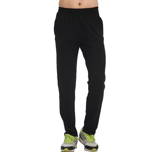 Mens Compression Pants Running Gym Tights Leggings Bodybuilding Jogging Trackpants Mens Fitness Breathable Cropped Pants Black X
