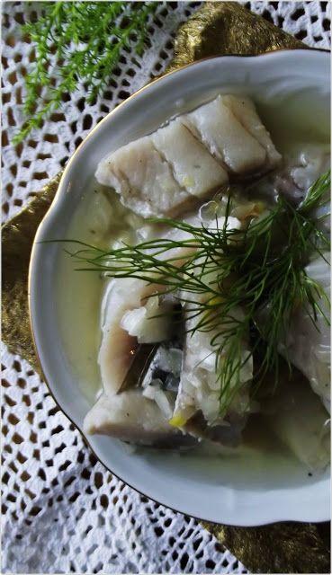 Śledzie w oleju z cebulą | Kuchnia w zieleni
