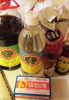 The best somen salad dressing ever! Very easy and ono!