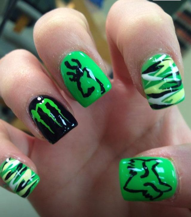 browning nails - Google Search