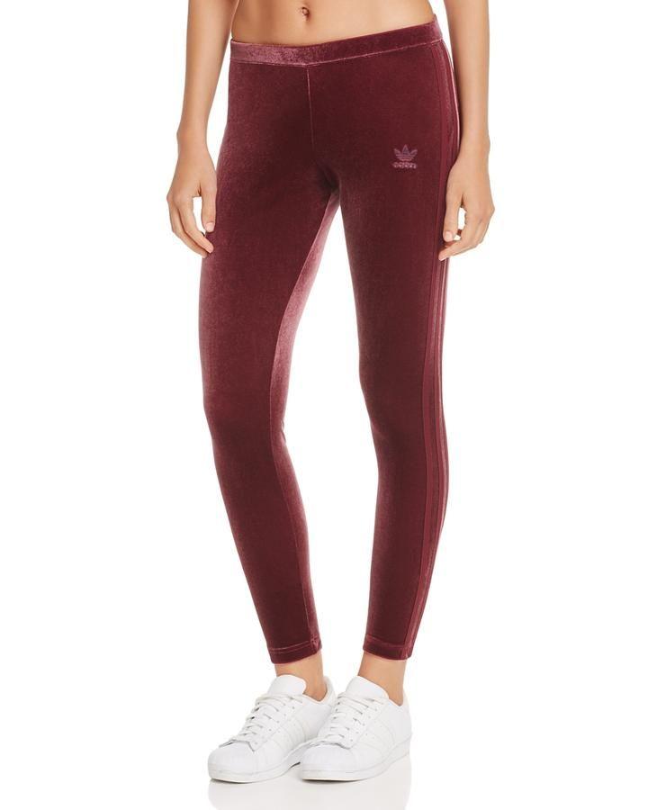 Montagna Pazienza Simulare  adidas Originals Velvet Leggings | Velvet leggings, Adidas originals  leggings, Adidas originals women