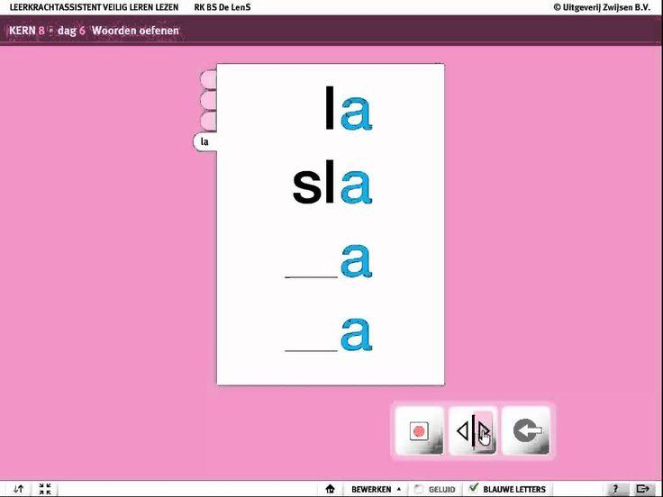 Thuis flitsen van woorden en letters, kern 8, dag 6, Veilig leren lezen