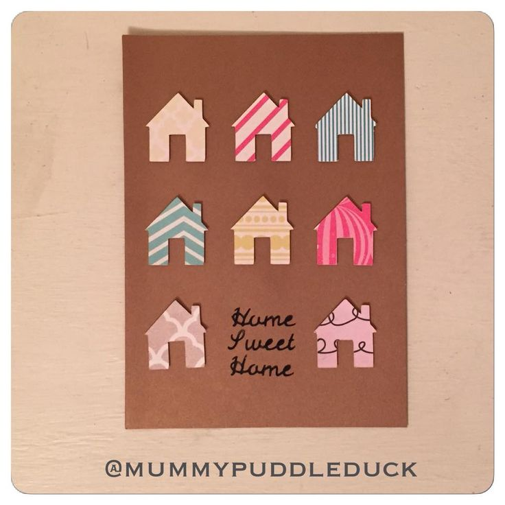 Handmade card for Mummypuddleduck #MakeitMay project where 10% of #Esty sales throughout May will be donated to #ParkinsonsUK #homesweethome #onlinecraft #newhome #cricutexplore