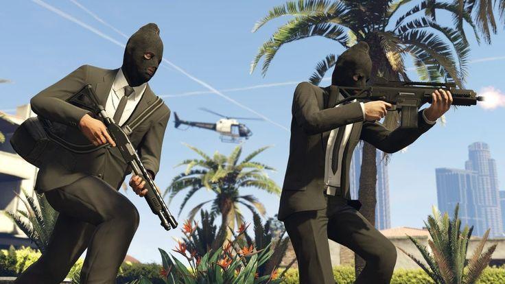 Zwykły live z napadami w tle z GTA Online