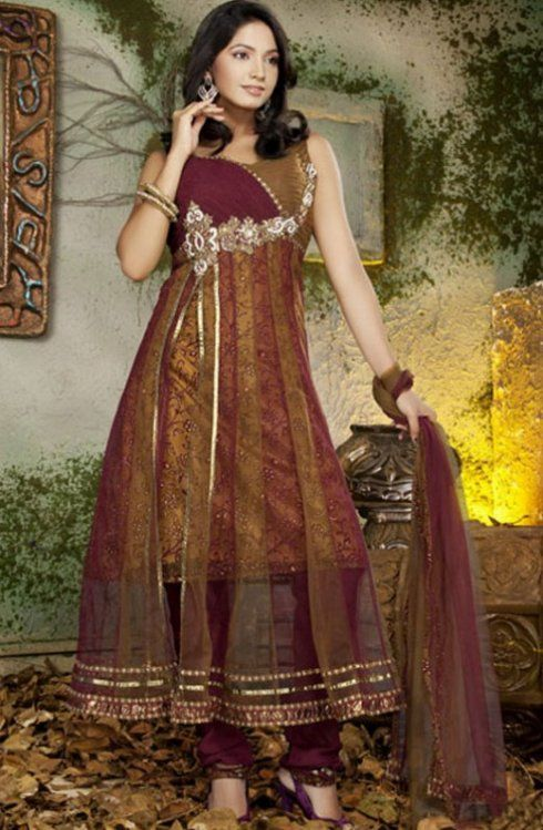 Anarkali Salwar Kameez,Designers Collection 2015 at: http://www.shadesandyou.com/product-category/readymade-suits/  #DesignerSalwarKameez #AnarkaliSalwarKameez #PartyWearSuits