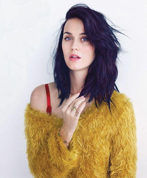 Katy Perry et ces cheveux mi-longs