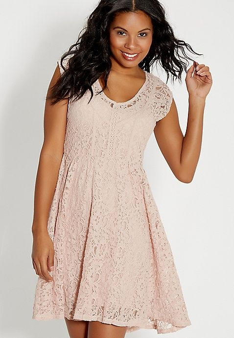 lace babydoll dress | maurices