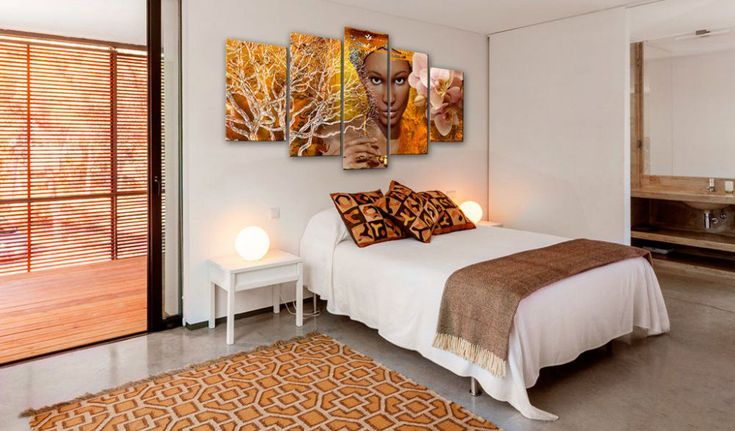 Obraz na plátně - Tales from Africa #canvas #prints #obraz #decor #inspirace #home #barvy #pictureframes #women #wildlife