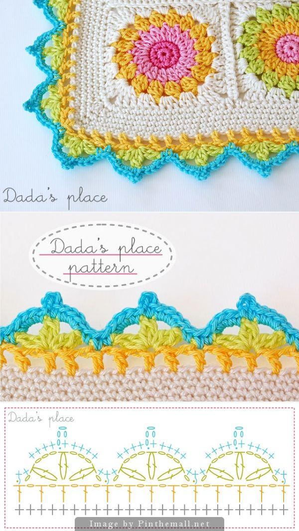 crochet border :: Dada's place