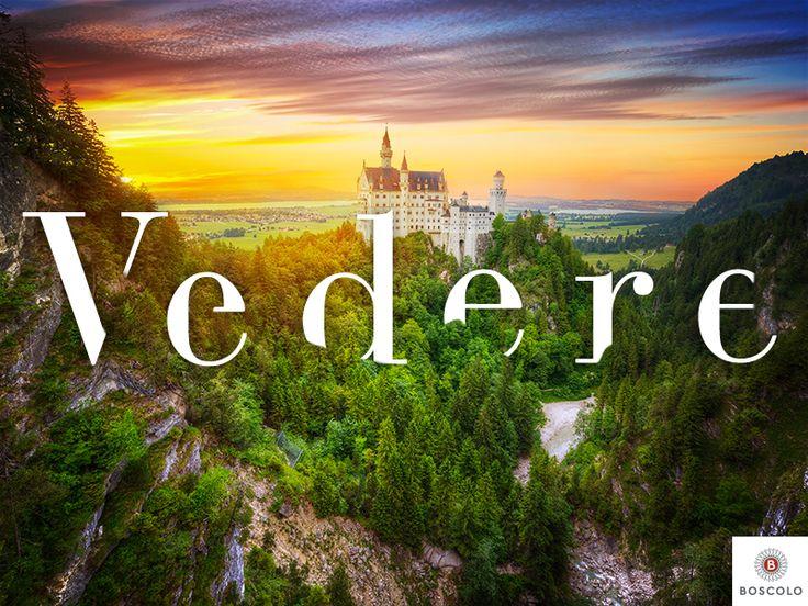I fiabeschi #castelli di #Neuschwanstein e #Hohenschwangau sorgono sul ciglio di gole vertiginose immerse nel verde.  Da lassù lo sguardo abbraccia l'immensa bellezza dei paesaggi bavaresi! #Baviera #Germania #travel #Travelling #Viaggi #trip #ViaggidiBoscolo