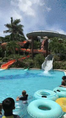New party member! Tags: meme wow amazing memes pool slide float dms water slide walk on water sliding in dms