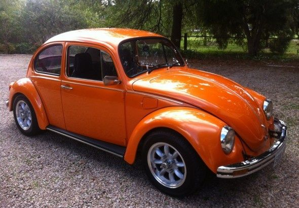 1976 Volkswagen Beetle Bates Motel Beetle Auto