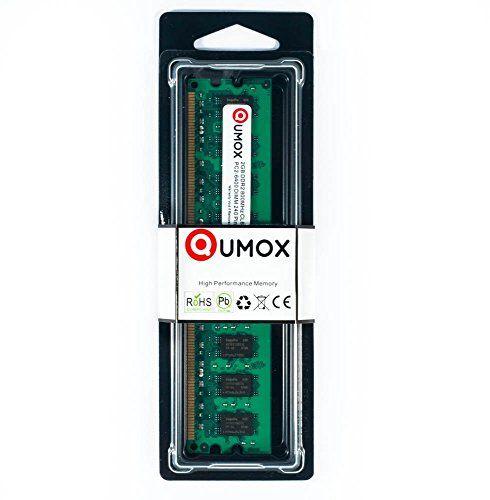 QUMOX 2Go 2GB DDR2 800MHz PC2-6300 PC2-6400 DDR2 800 (240 PIN) DIMM Mémoire pour ordinateur de bureau #QUMOX #PIN) #DIMM #Mémoire #pour #ordinateur #bureau