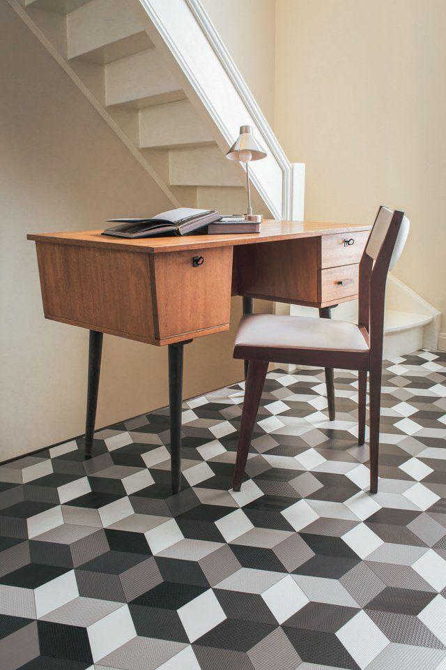 les 30 meilleures images du tableau sol pvc sur pinterest vinyles sol vinyle et dalles. Black Bedroom Furniture Sets. Home Design Ideas