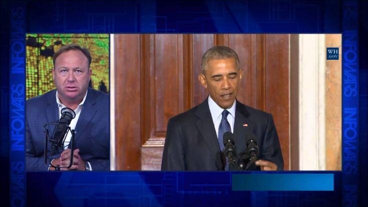 Alex Jones : Obama's Coming For The Guns 2016
