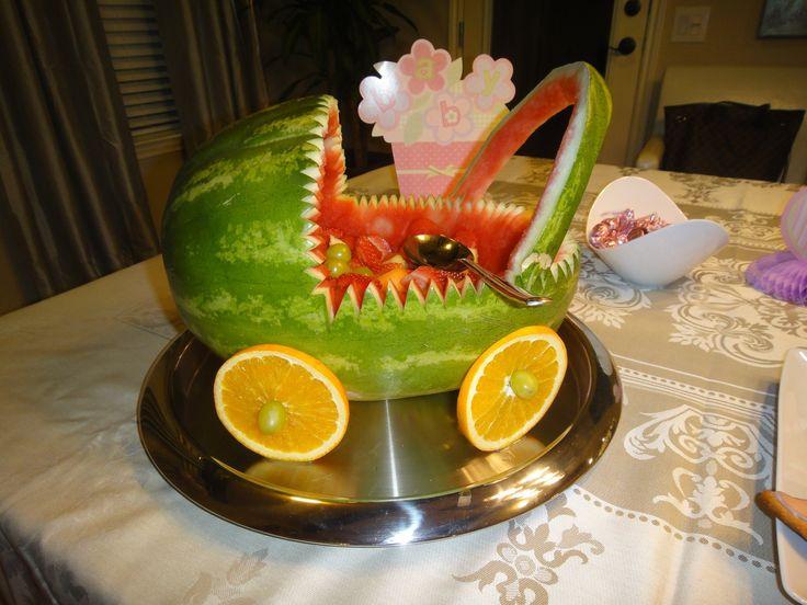 Receta de carreola de sandia recetas para baby shower pinterest watermelon babies and showers - Ideas para cena rapida sencilla ...