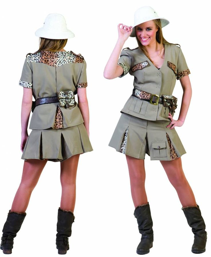 crocodile dundi costume femme | Party-outfits: Safari-woman - Fancy dress