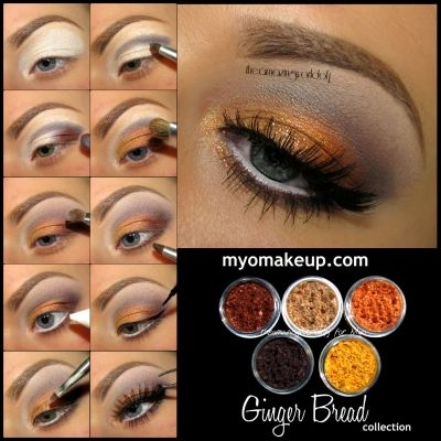 Eyeshadow Pigment Sets - 5 MYO Ginger Bread Set Eyeshadow Pigment Mica Cosmetic Loose Powder Mineral Makeup (Powered by CubeCart)