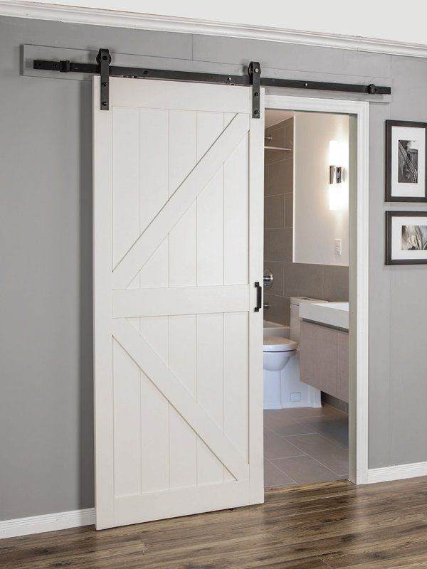 Continental Mdf Engineered Wood 1 Panel Interior Barn Door Barn Door Designs Indoor Barn Doors Doors Interior