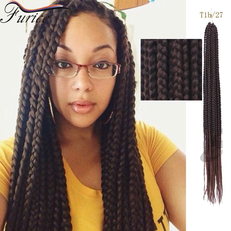 50 best box braids images on pinterest braided hair box braids 18 inch 24 inch crochet box braiding hair pmusecretfo Images