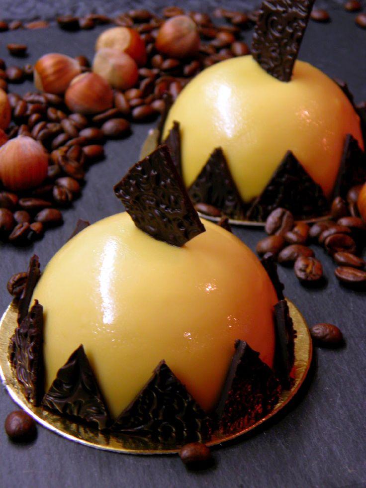 Csokoládé Reformer: Kávés-karamellás minitorta