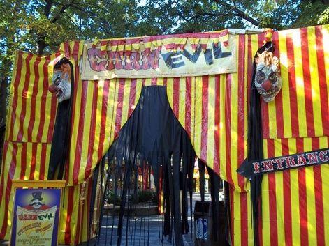 332 best Halloween/Fall images on Pinterest Halloween stuff - circus halloween decorations