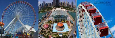 Todo el mundo ama a la captura de la escena de las Banderas. Cuando Tris y Cuatro subir a la noria, La rueda de la fortuna de Chicago, sobre el Navy Pier . Aquí hay algunas fotos para que puedas tener una idea de lo que Tris y Cuatro estaban haciendo.