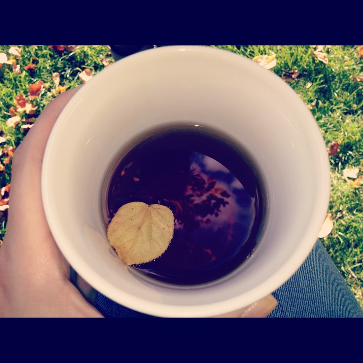 Fall in a cup of tea