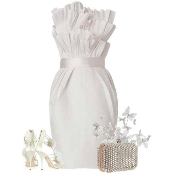 This would be perfect for my all white party OMG. I can't get enough of this!!!