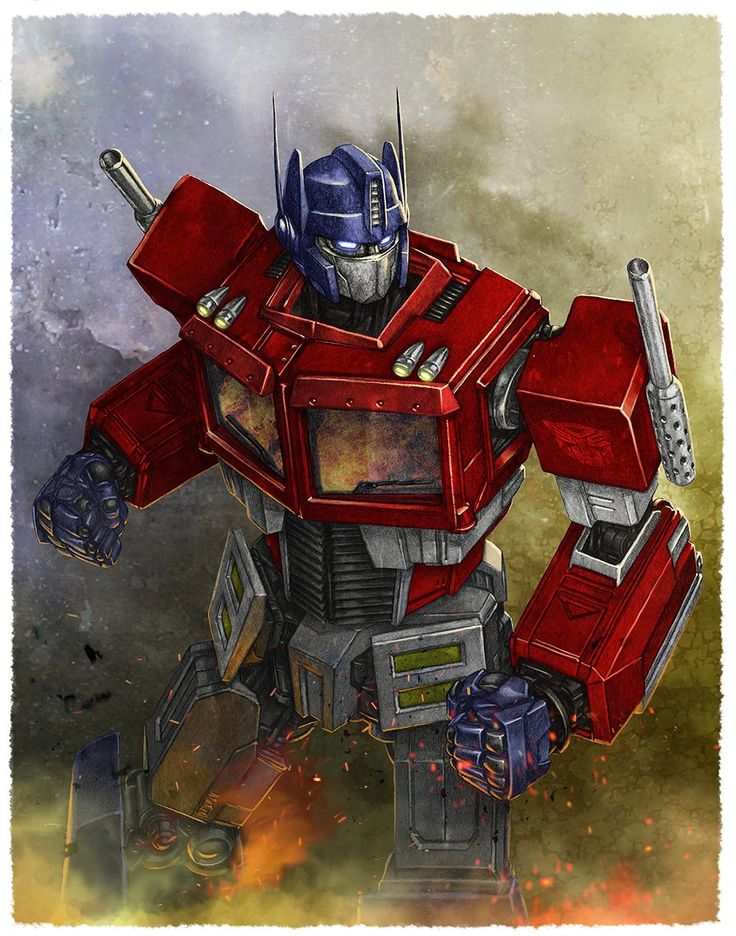 Transformers - Optimus Prime by Mike Choi