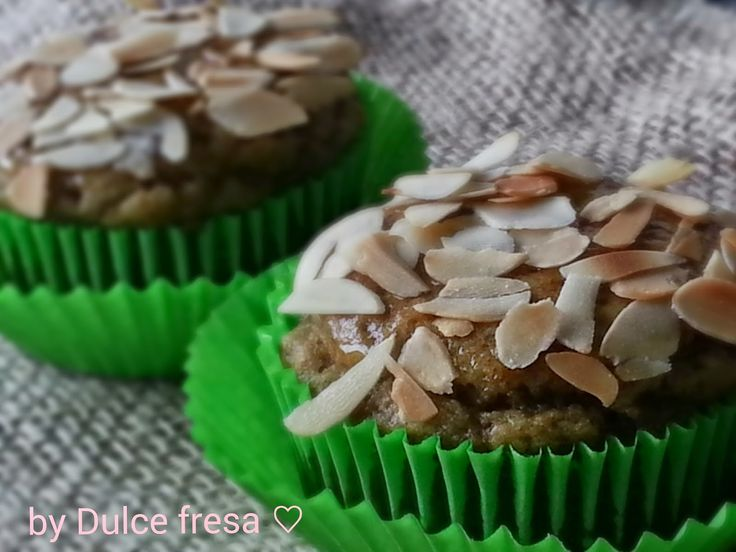 Dulce fresa: Avocado amandel cupcakes