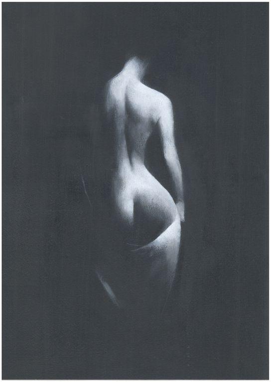 "Saatchi Online Artist: Patrick Palmer; Oil, 2013, Painting ""Light on Her"""