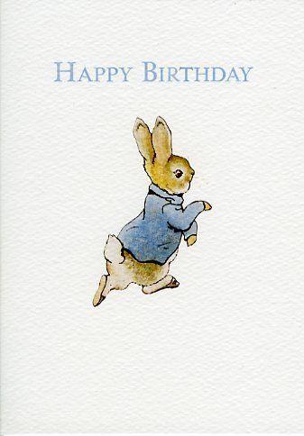Peter Rabbit Beatrix Potter carte de voeux                                                                                                                                                                                 More
