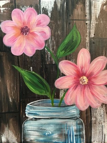 <p>In just about two hours, while you're sipping on a glass of wine, beer, or cocktail of your choice*, our performing artist will guide you through a painting step-by-step. At the end of the ni