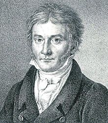 Carl Friedrich Gauss (1777-1855) - Gauss's portrait published in Astronomische Nachrichten 1828 /  a German mathematician who contributed significantly to many fields, including number theory, algebra, statistics, analysis, differential geometry, geodesy, geophysics, mechanics, electrostatics, astronomy, matrix theory, and optics.