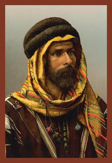 Bedouin Chief of Palmyra 20x30 poster