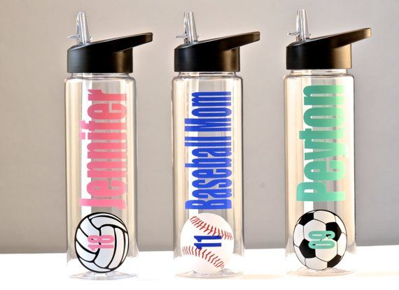 personalized sports bottle team